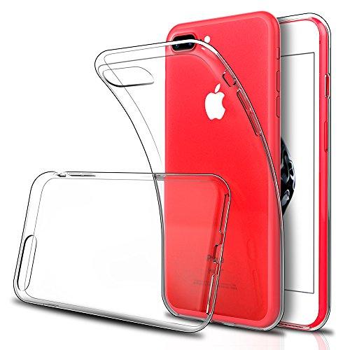 iPhone 8 Plus / iPhone 8 Plus ケース, Simpeak クリア TPU透明保護カバー アイフォン 8 プラス / 7 プラス 衝撃吸収 耐衝撃 [一枚]