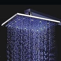 どのように@浴室用機器:LED /降雨用現代レインシャワークローム機能、シャワーヘッド
