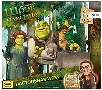 """Board game: """"Shrek forever"""" Zvezda 8725"""