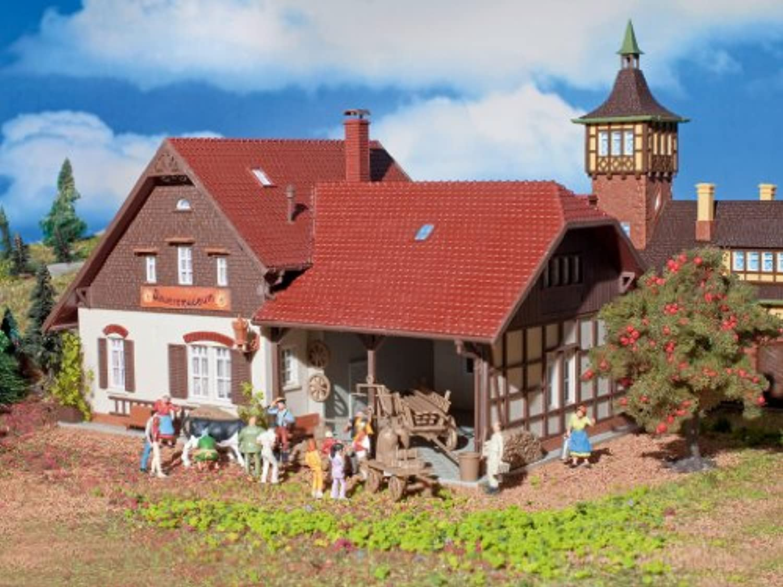 HoスケールFarmer 's Museum – -有機プラスチックキット – 8 – 1 / 4 x 4 – 15 / 16 x 4 – 3 / 4