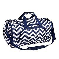 Mosiso ダッフルバッグ シューズ収納 運動/旅行/出張/合宿 多用途 30L ボストンバッグ スポーツジムバッグ 旅行バッグ 2WAY ショルダーバッグ/手提げバッグ メンズ レディース(ストライプ&ネービーブルー)