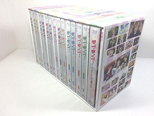 ラブライブ! 全15巻コンプリートセット/ 1期 + 2期( 2nd Season )+ 劇場版 /ブルーレイセット 収納ケース 付き
