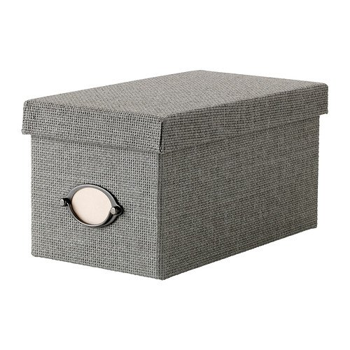 RoomClip商品情報 - IKEA(イケア) KVARNVIK ふた付きボックス グレー