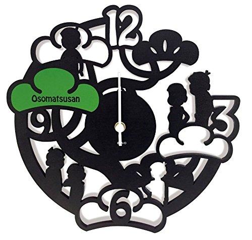 おそ松さん 壁掛け時計 MDF