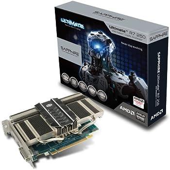 Sapphire ULTIMATE R7 250 1G GDDR5 PCI-E HDMI / DVI-I / DP 日本正規代理店品 VD5265 SA-R7250-1GD5ULTR01