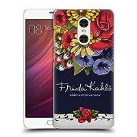 Official Frida Kahlo ブルーム レッド・フローラル ハードバックケース Xiaomi Redmi Pro