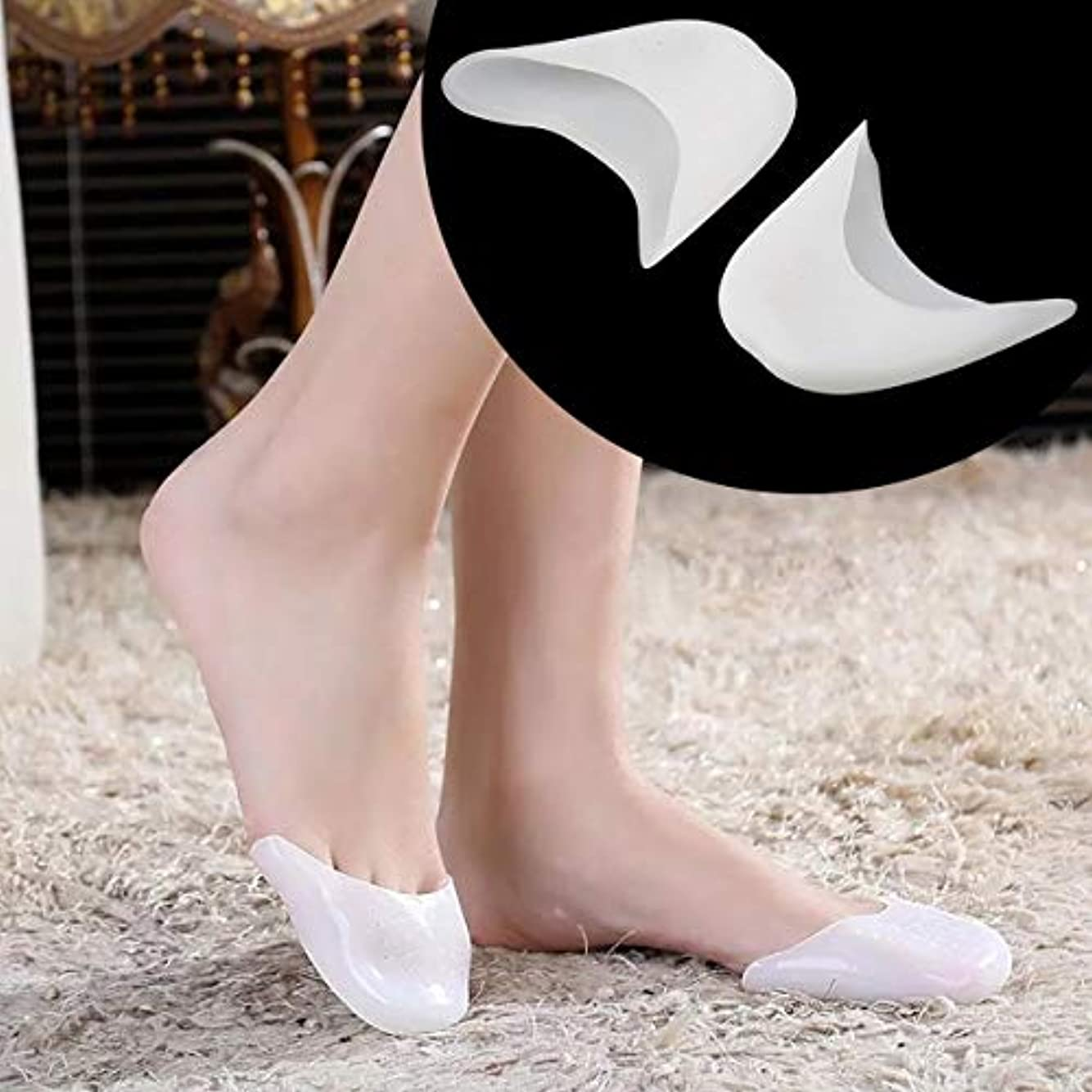 性的いう特徴づけるMultifunctional Silicone Gel Toe Sleeve Comfortable Ballet High Heel Toe Sleeve Pain Relief Protect Foot Care...