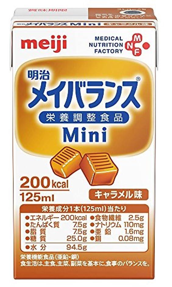 持参ラフトあなたのもの【明治】メイバランス Mini キャラメル味 125ml