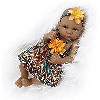Nicery 生まれ変わった赤ちゃん人形おもちゃハードシミュレーションシリコンビニール10インチ26cm防水おもちゃとギフト Reborn Baby Doll ID26002G