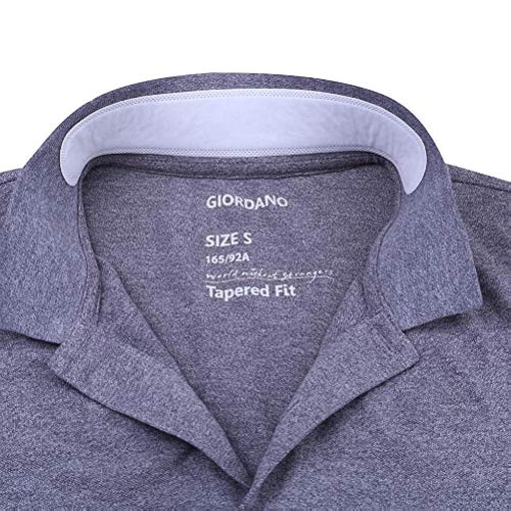 安全性褐色前進OUNONA よごれガードテープ 襟 汗取りパッド ワイシャツ 汗取りシート えり汚れ防止 1枚