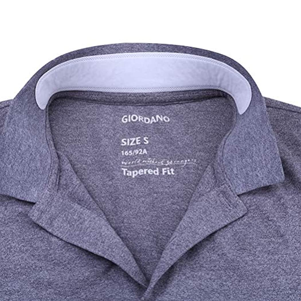 自分自身連続した圧縮されたOUNONA よごれガードテープ 襟 汗取りパッド ワイシャツ 汗取りシート えり汚れ防止 100枚