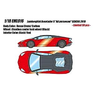 EIDOLON 1/18 ランボルギーニ アヴェンタドール S アドペルソナム ジュネーブ2018 ロッソエフェスト 完成品