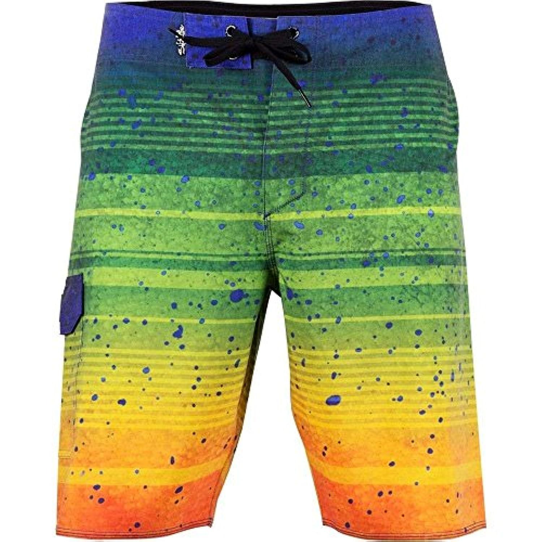 (ソルトライフ) Salt Life メンズ 水着?ビーチウェア 海パン Salt Life Electric Skinz Board Shorts [並行輸入品]