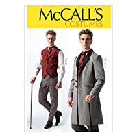 【McCall】シャーロックホームズ コスチューム 型紙セット サイズ:Sml-Med-Lrg-Xlg-Xxl *7003