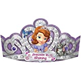 Sofia the Firstプリンセスティアラ – 誕生日and Theme Party Supplies – 8 perパック