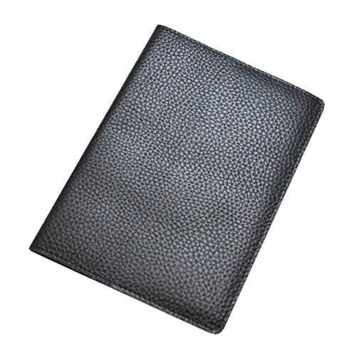 革ブックカバー文庫本サイズ [FES GOODS](革製) (ブラック)