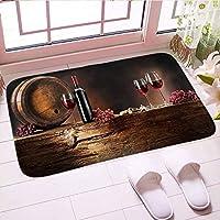 CKYNER 屋内床のマットの家の装飾450mmx750mmのための多彩な注文の台所マットのカーペットの柔らかい浴室のマット1