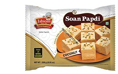 「Jabsons」 ソーン パプディ ココナッツ(Soan Papdi Coconut)250g