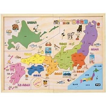 木製シリーズ パズル日本地図