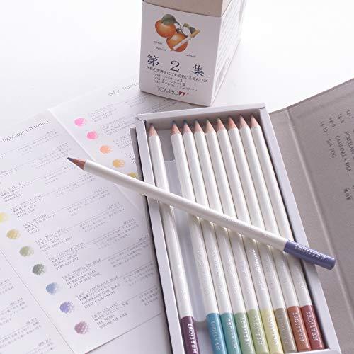トンボ鉛筆 色辞典色鉛筆 30色セット 第二集