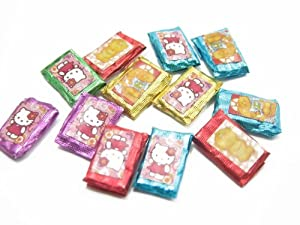 Dolls House Miniature Food Lot 12 Pcs Mixed Color Chocolate Bar Supply Deco - 8745 ドール 人形 フィギュア(並行輸入)