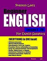 Preston Lee's Beginner English Lesson 1 - 20 for Dutch Speakers