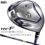 マグレガー MACTEC ドライバー マックテック NV-F TYPE-1NV-BLUE ドライバー カーボン 9度 S45.25インチ