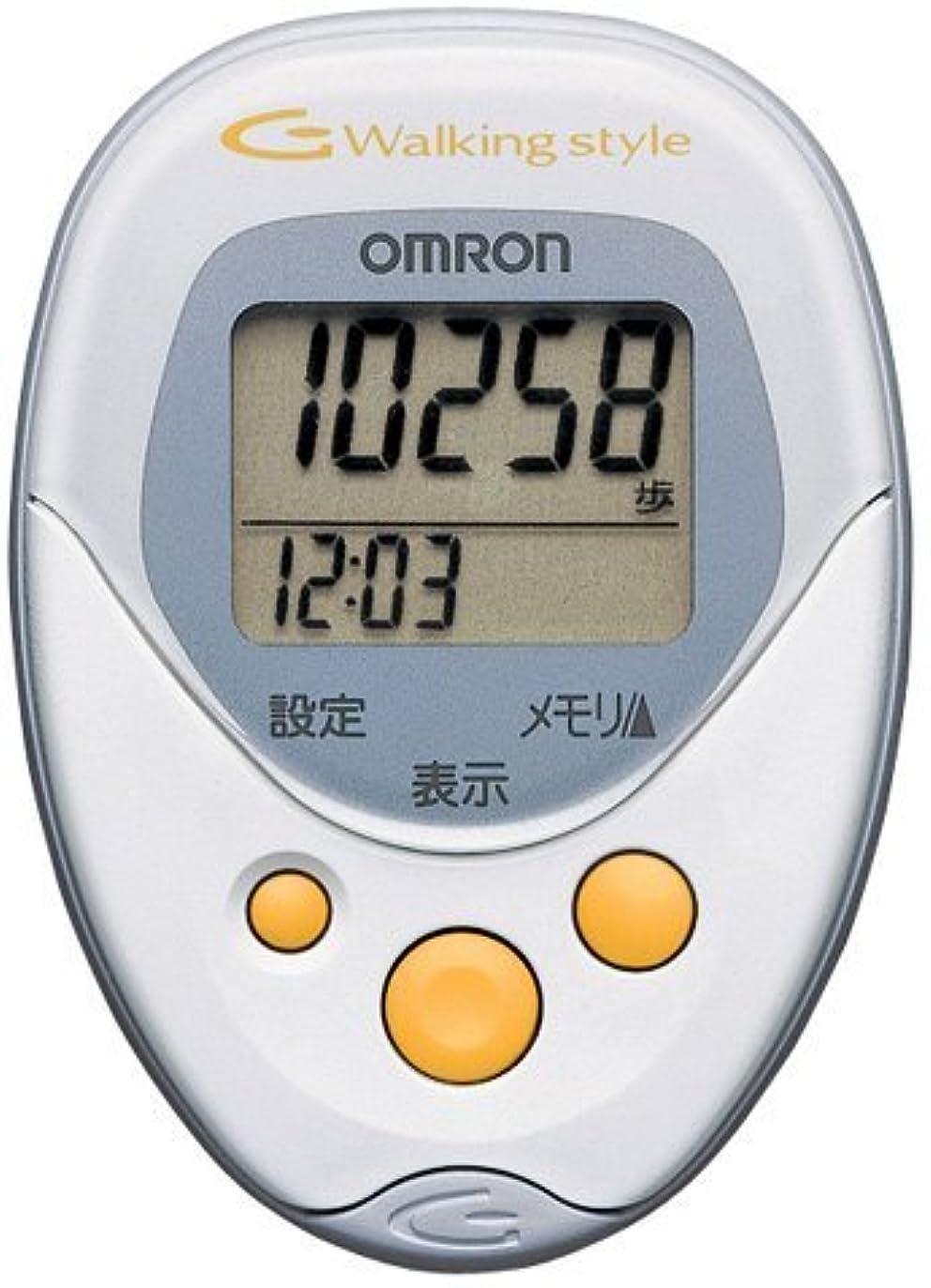 ホバート気性受け取るオムロン(OMRON) ヘルスカウンタ Walking style HJ-113 ホワイト