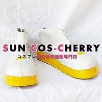 【サイズ選択可】コスプレ靴 ブーツ K-001 VOCALOID 鏡音リン・鏡音レン 女性25CM