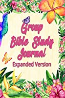 Group Bible Study Journal - Expanded Version: Tropical Paradise 6x9 Inch 120 Pages 1 Year Bible Study Journals Church Journal
