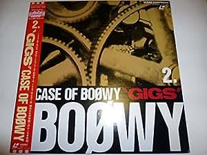 BOOWY  CASE OF BOOWY GIGS 2 [Laser Disc]