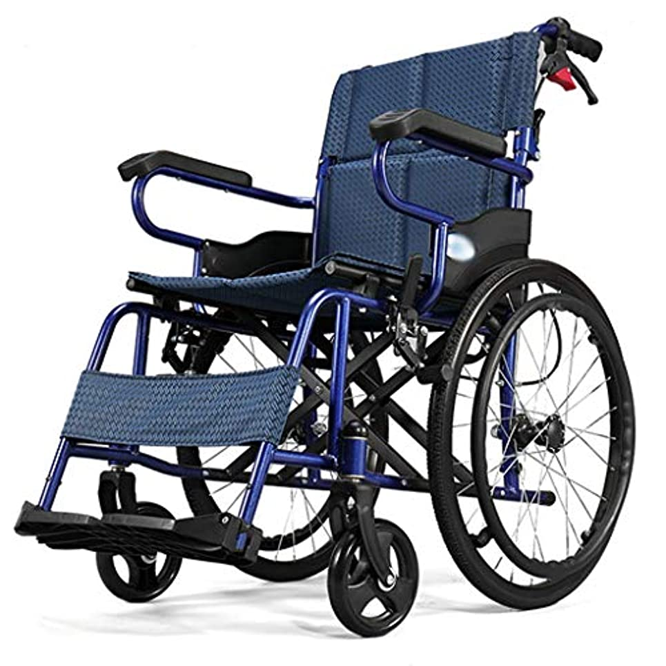 ライブ知的ミット携帯用車椅子用タイヤスリップ、折り畳み式の自走式車椅子、高齢者用車椅子用クッション、通気性、親に送るための携帯用トロリー