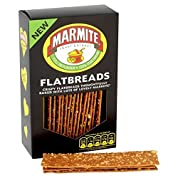 マーマイトフラットブレッドの140グラム - Marmite Flatbreads 140g [並行輸入品]