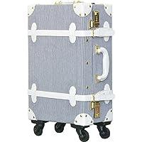 FIELDOOR ヴィンテージ風 トラベルキャリーケース スーツケース Sサイズ ダイヤル式ロック