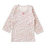 (チャックル) chuckle *スウィートガール* 小花柄インナーシャツ ピンク 90cm P3443-90-20