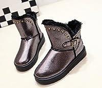 「ReiRei」レイレイ レディース ブーツ ムートンブーツ スノーブーツ ブーティ ショートブーツ ロングブーツ (37(23.5cm), ブラック)