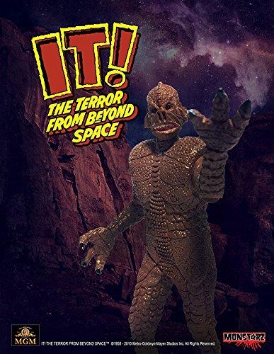 Monstarz モンスターズ/ 恐怖の火星探検: ザ・テラー 火星の吸血獣 3.75インチ レトロ アクションフィギュア レッドサンド ver