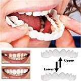 シリコーンシミュレーション歯ホワイトニングブレース(9個),A