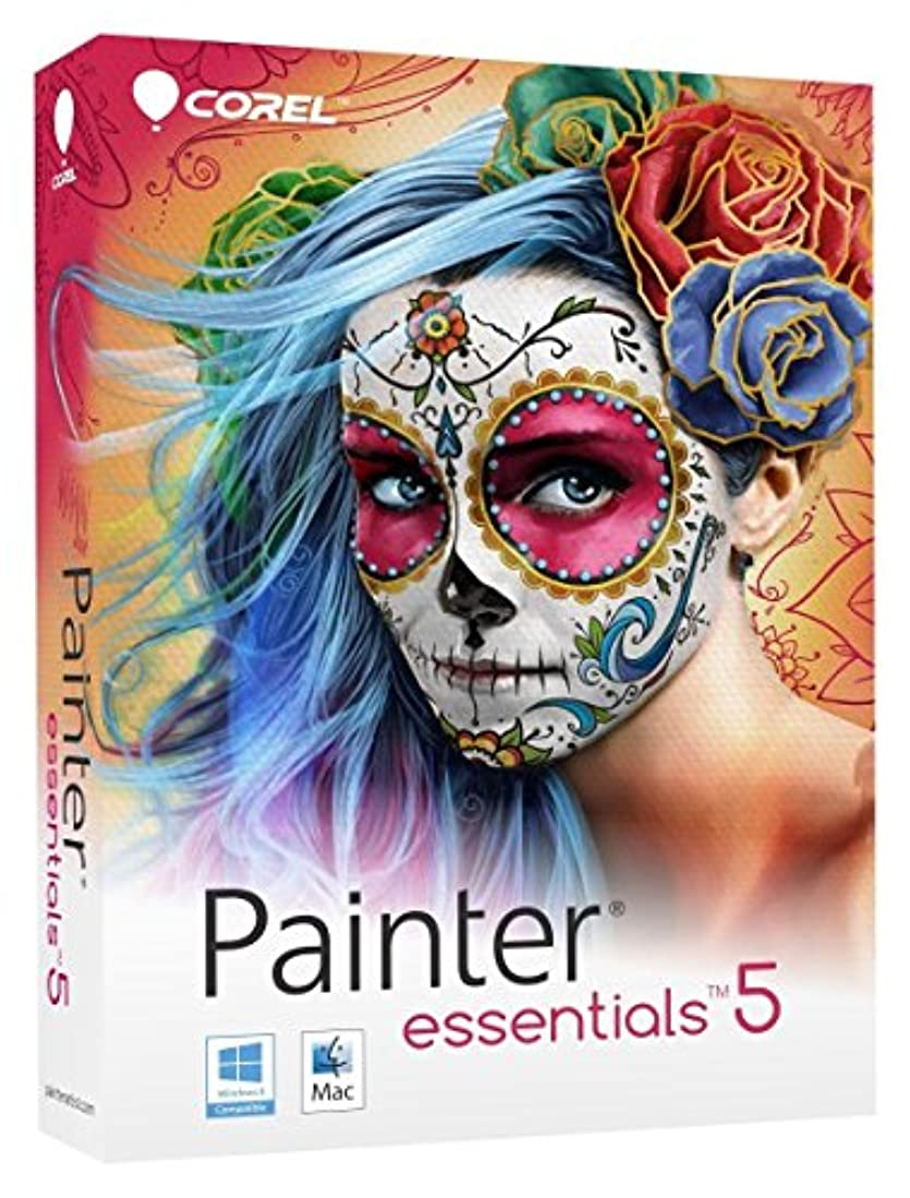 他の日シュリンクダイヤルCorel Painter Essentials 5 Digital Art Suite for PC and Mac [並行輸入品]
