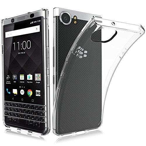 BlackBerry KEYone ケース MaxKu ソフト クリア 耐衝...