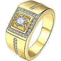 ZAKAKA 指輪 メンズ リング ファッション アクセサリー [ギフトボックスを提供] 16号 18号 21号を提供 (21)