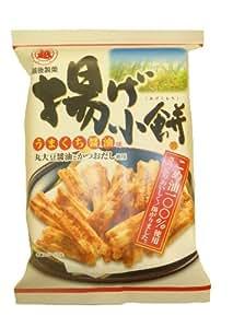 越後製菓 揚げ小餅うまくち醤油味 70g×10袋