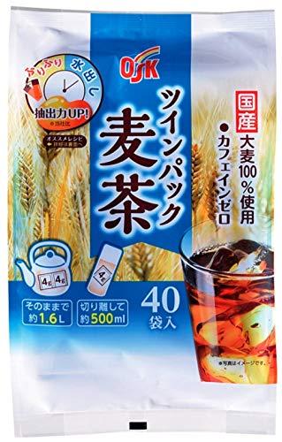 OSK ツインパック麦茶ティーパック40袋×6個