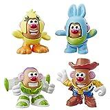 ミスターポテトヘッド ディズニー/ピクサー トイストーリー ミニ 4個パック ブズ ウッディ ダッキー バニーフィギュア おもちゃ 対象年齢2歳以上