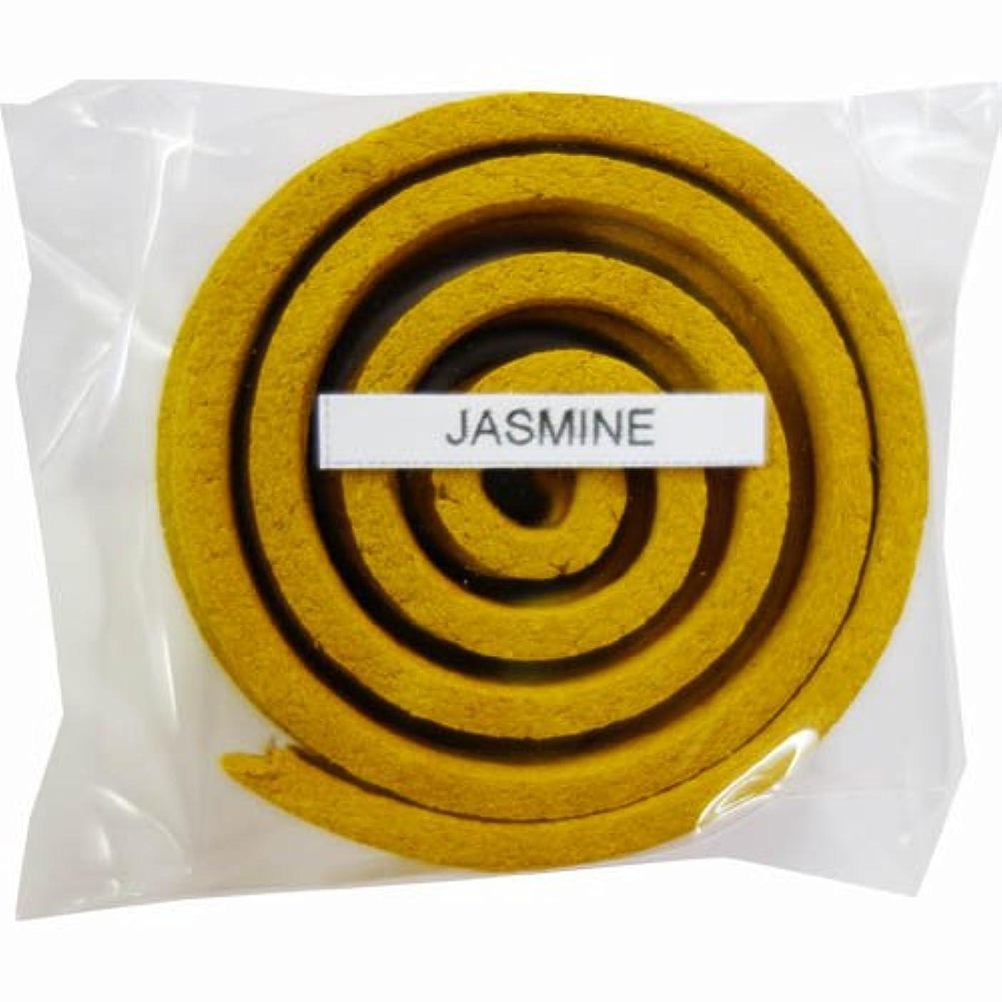 バック葉を拾うピービッシュお香/うずまき香 JASMINE ジャスミン 直径5cm×5巻セット [並行輸入品]