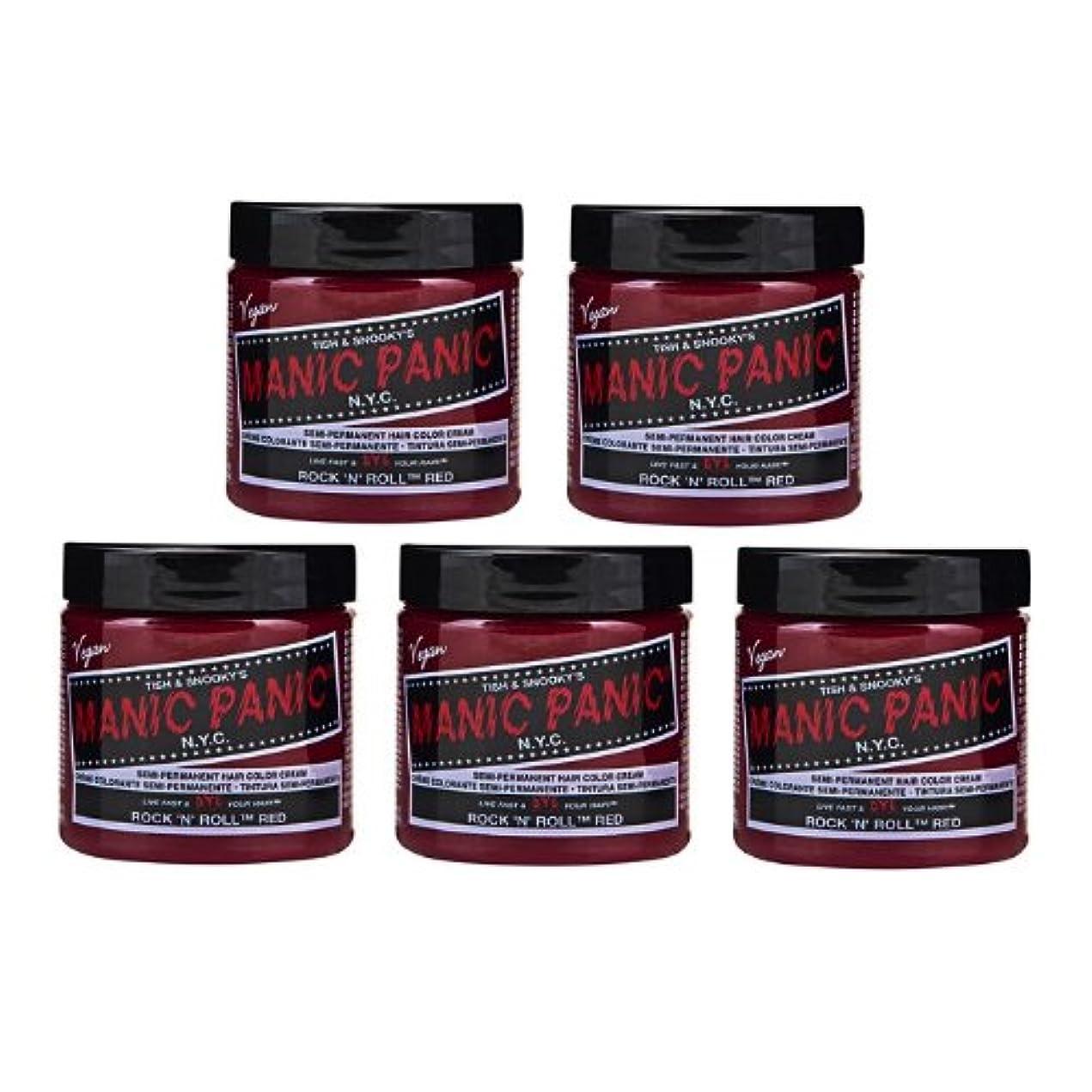 どこでも健康注文【5個セット】MANIC PANIC マニックパニック Rock'n'Roll Red ロックンロールレッド 118ml