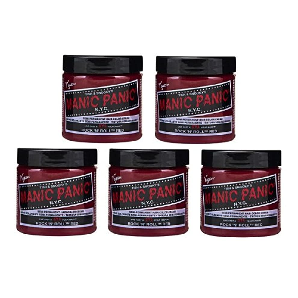 クール安定比較【5個セット】MANIC PANIC マニックパニック Rock'n'Roll Red ロックンロールレッド 118ml