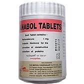アナボルタブレット5mg 100錠 5本 シュワルツェネッガー愛用 ステロイドで筋肉増強 [並行輸入品][海外直送品]