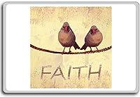 Faith - Motivational Quotes Fridge Magnet - ?????????