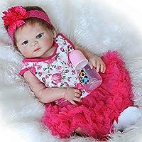 NPK 23インチフルボディSiliconeビニールReborn人形ベビー人形Lovely Lifelikeキュートベビー人形ガールおもちゃ